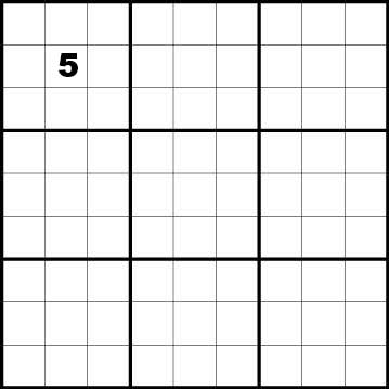 Create your own Sudoku puzzle from scratch using a