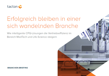 Preview Branchen-Briefing MedTech