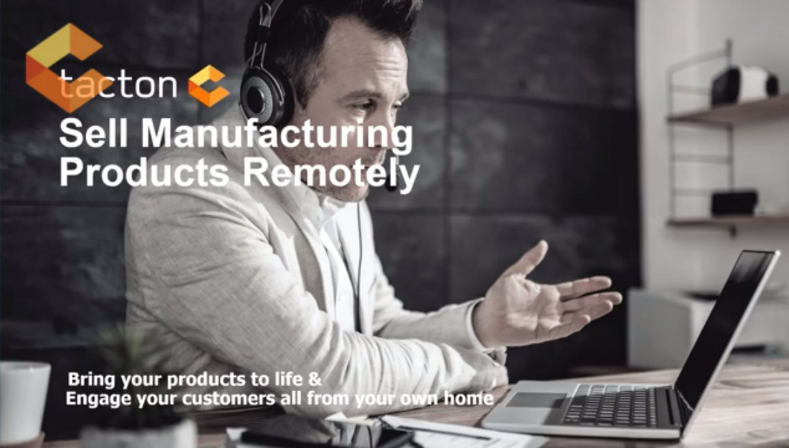 sell manufacturing products remotely