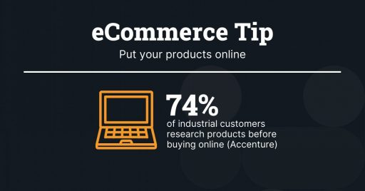 ecommerce for manufacturing tip