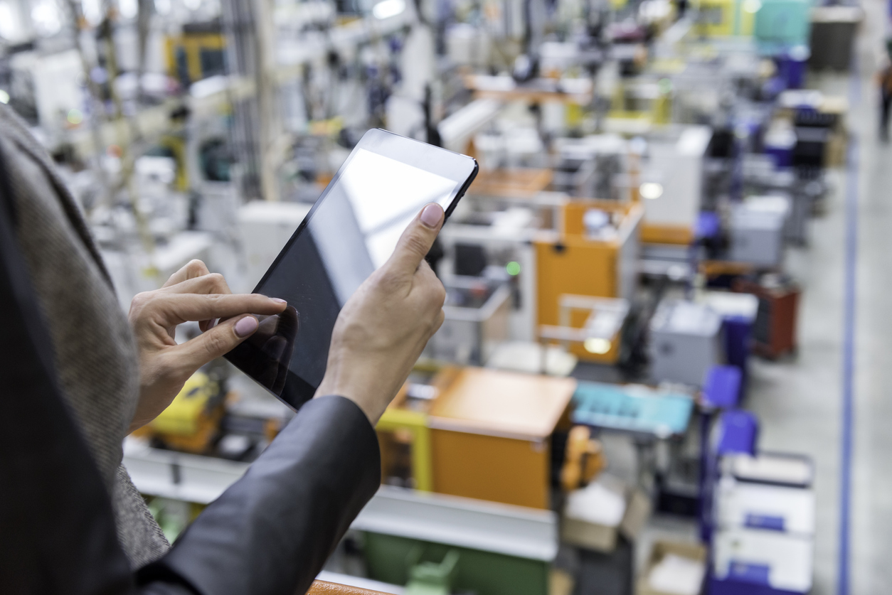 The modern manufacturing CMO and a factory floor