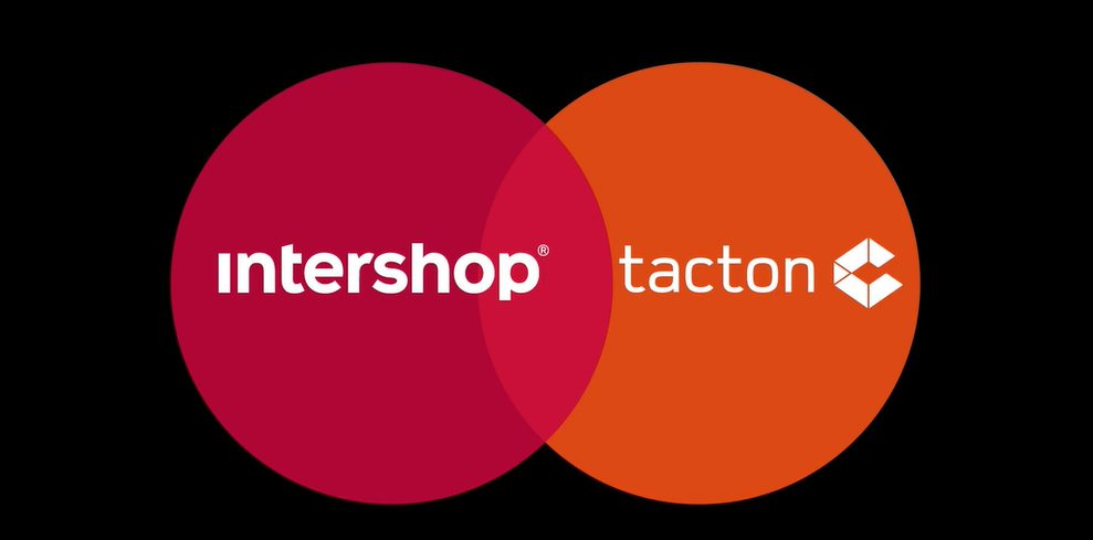 Tacton and intershop partnership
